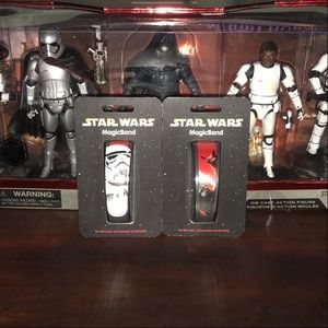 Disney Magic Band Magicband Stormtrooper Kylo Ren